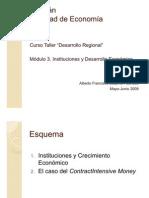 Clase 3. Instituciones y Crecimiento Económico