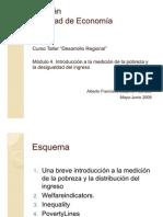 Clase 4.Introduccion a La Medicion de La Pobreza y La Desigualdad Del Ingreso