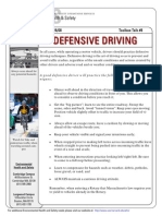 Toolbox Talk Driving
