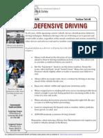 Toolbox Talk Driving