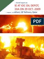 IOC Fire Incident