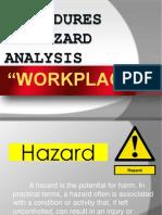 Procedure in Hazard Analysis