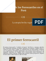 Historia de los Ferrocarriles en el Perú