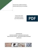 Metodologia para el diseño de materiales