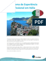 Estagios VidaEdu Programa de Experiencia Profissional Em Italia