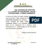 ALCANCE DEL SISTEMA DE GESTIÓN INTEGRADO