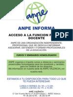 Guía opos Valencia 2009 ANPE