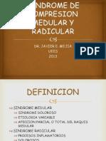 13- Sindrome de Compresion Medular Radicular