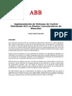 ABB Sistemas de Control Distribuido en Concentradoras Minera