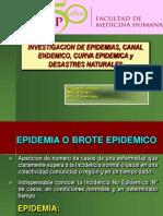 4. Epidemias, Canal Endemico, Curva Epidemica