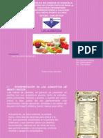 presentacion Yaniree Alimentos