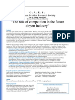24 GARS the Role of Competition in the Future Airport Industry