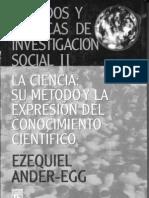 La ciencia y su método. Ezequiel Ander-Egg