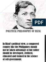 Political Philosophy of Rizal