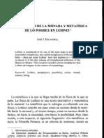 Espontaneidad de la mónada y metafísica de lo posible en Leibniz