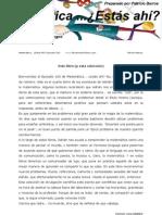Matematica - Estas Ahi Episodio 100 - Adrian Paenza