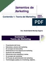 Fund MKT Contenido 1 Teoría del Marketing