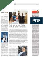 """Reseña de la presentación de """"Pánico"""" en revista Ñ"""