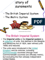 Imperial and SI Units