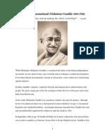 Gandhi Mohandas Karamchand Mahatma