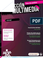 Fase de Analisis El Brief Producion Multimedia