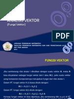 3. Fungsi Vektor