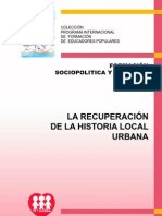 29334984 La Recuperacion de La Historia Local