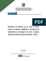 Proposta Final Plano de Carreira FAETEC 05.2012