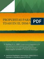 TDA y DSM V