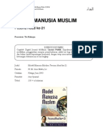 Review Model Manusia Muslim Abad XXI - Anis Matta