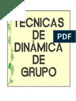 Técnicas de Dinâmica de Grupo (CRE-SUL)