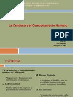 laconductayelcomportamientohumano-101022094145-phpapp01