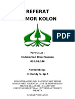 Cover Referat Fix Tumor Kolon.doc