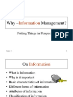 01 Information - An Intangible Asset