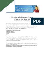 Literatura Latinoamericana