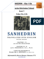 34e - Sanhedrin - 93a-113b