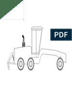 Motoniveladora Komatsu Model