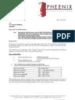 KUL Commercial Project - Bandra (E) - Qtn Dt. 30-05-2013