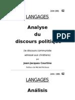 Courtine_El Discurso Politico