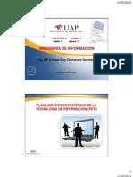 PLANEAMIENTO ESTRATÉGICO DE LA TECNOLOGÍA DE INFORMACIÓN (PETI)