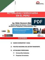 Actualidad Ferroviaria en PEru