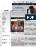 Membership Newsletter Volume 15 Issue 3 2013 of the Nokota Horse Conservancy