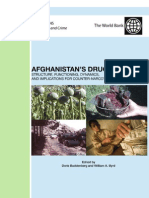 Afghanistans Drug Industry UNODC World Bank