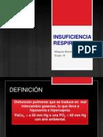 Insuficiencia Respiratoria- Milagros Moreno