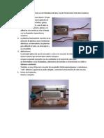 Factores a Considerar Para La Determinacion Del Calor Producido Por Una Plancha