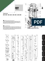 Instrucciones de Servicio Petromax E