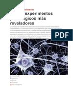 10 experimentos psicologicos actuales