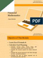 Basic Financial Mathematics