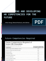 Identifying and Developing HR Competencies for the Future