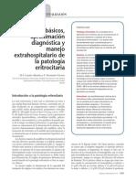 conceptos b+ísicos, aproximaci+¦n diagn+¦stica y manejo extrahospitalario de la patolog+¡a eritrocitaria